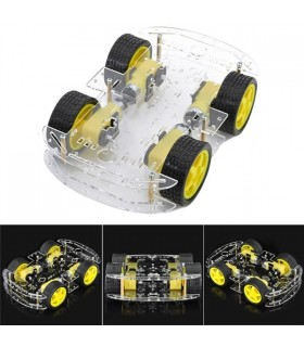 Smart Robot Kit Carro 4WD para Arduino - 4WDROBOT