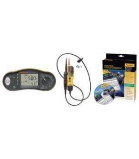 Fluke 1663 - Certificador de instalacoes + T130 + Software - FLK1663SCH-TPLKIT