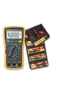 FLUKE115 - Multímetro digital TRMS + Acessorios Fluke TLK225 - FLK115-TLK225-1