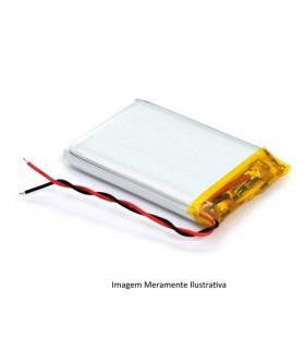 L654050 - Bateria Recarregavel Li-Po 3.7V 1500mAh 6,5x40x50m - L654050