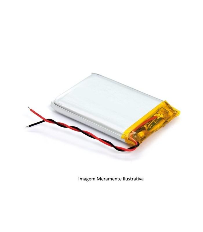 L103053 - Bateria Recarregavel Li-Po 3.7V 90mAh 1x30x53mm