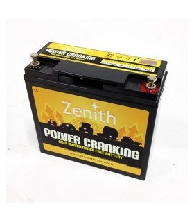 ZPC120020 - Bateria Dual AGM 12V 20AH 680A Zenith - ZPC120020