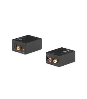 PK-OPCOAX01 - Adaptador Toslink Para Rcas - PK-OPCOAX01