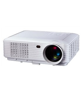 VPU28+ - Video Projector LEDS RGB USB/SD/HDMI Comando Branco