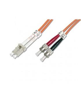 Cabo Fibra Óptica F.O. ST/LC 2Mt Duplex 50/125 4Lan - MX17011502