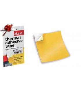 Adesivo duplo lado térmico micro–fiberglass 80x80mm - AKA785