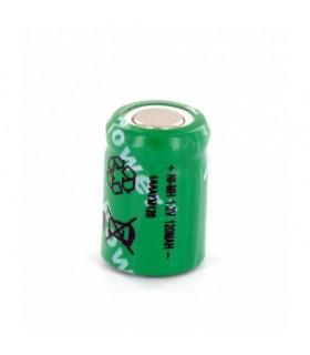 Elemento NiMh 1/3AAA 120mAh 1.2V - 1691.2120