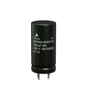 Condensador Electrolitico 270uF 400V - 35270400