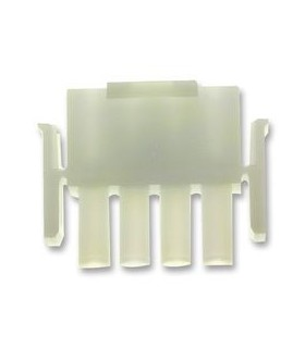 Ficha Molex 4 pinos 6.35mm - MX14807020