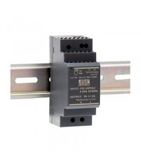HDR-30-24 - Fonte Alimentação de Calha 24Vdc 1.5A 36W - HDR-30-24