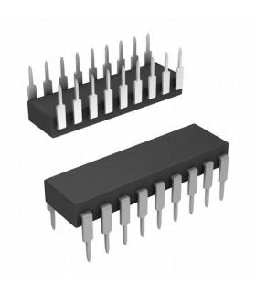 HT12D - IC, REMOTE CONTROL DECODER, DIP18 - HT12D