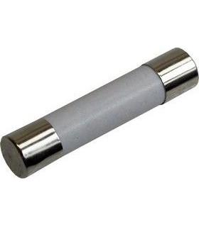 62205GR - Fusível Vidro 6X32 500mA Fusão Rápida Ceramico - 62205GRC