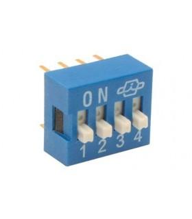 Interruptor DIP - 914DS4