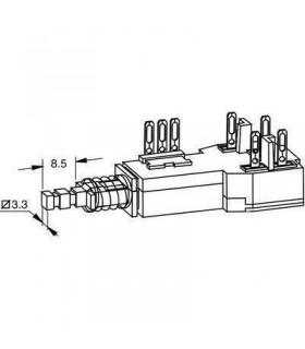 Interruptor MSC16587 ITT C/Comando - 914ITTCC