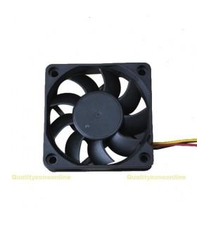 Ventilador 12V - 60X60X20mm - rolamento - 3 fios - V126S