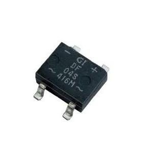 Ponte rectificadora 0.8A 600V SMD - 161808A600