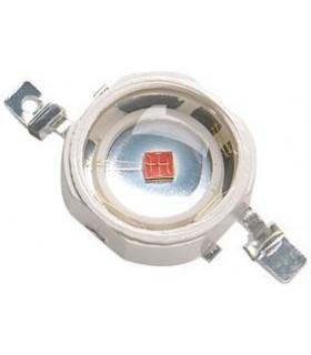 Led SMD 3W Vermelho 80 Lm 140º - 1243WR
