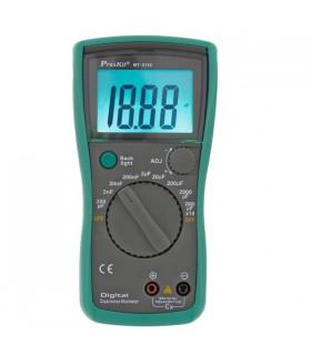 MT5110 - Capacimetro Digital  0.1pF - 20,000uF - MT5110