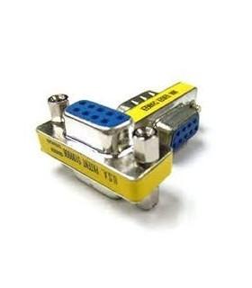 Adaptador DB9 / RS232 / SERIE / 9PIN D-SUB fêmea-fêmea - D9FF