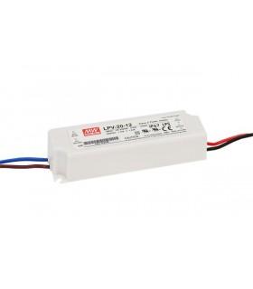 LPV-20-12 - Periféricos de fonte de alimentação LED 20W 12V - LPV-20-12