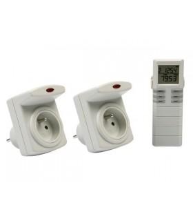 Kit medidor de Consumo Electrico 2 Tomadas - RS3620