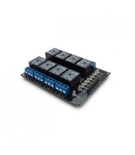 MX120525003 - Modulo 8 reles 5v - MX120525003