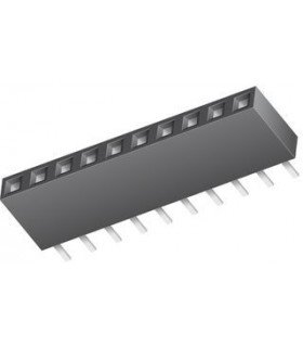 2212S-10SG-85 - TOMA, PCB, 1 FILA, 10 VÍAS - 2212S-10SG-85