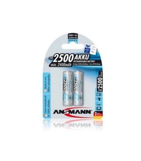 Pack 2 Pilhas Ansmann Lr6 2500Mah - 5035432