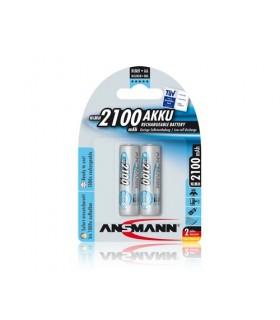 Pack 2 Pilhas Ansmann Lr6 2100Mah - 5030992