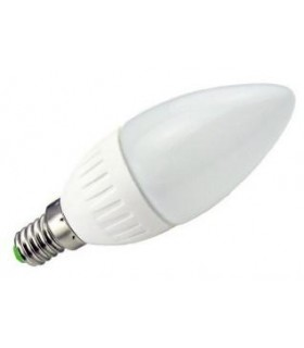 106/W - Lampada E14 4W Opaca 6000K - LL106W