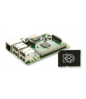 Raspberry Pi  Model B+ c/ Cartão 8Gb NOOBS - RASPBERRYB+SD