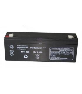 Bateria Gel Chumbo 12V 4Ah 195x48x70mm - 124