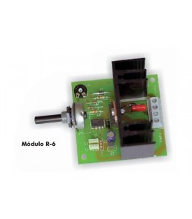 SPEED REGULATOR FOR 6A. DC MOTOR CEBEK - R6
