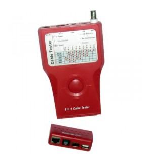 HL-2022 - Testador de Cabos RJ45/RJ11/BNC/USB - HL-2022