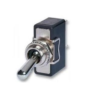 Interruptor Alavanca 1 Circuito 2 Pos. Rosca Grande, IP67 - 9141C2PG67
