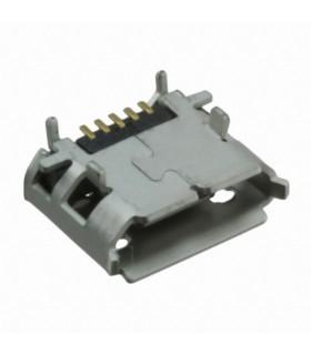 MICRO USB B, RECEPTACLE, SMT, RA, 5WAY - MUSBCI2