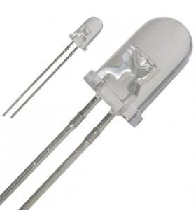 Led 5mm Branco  13800-18000mcd; 20 - 1245W