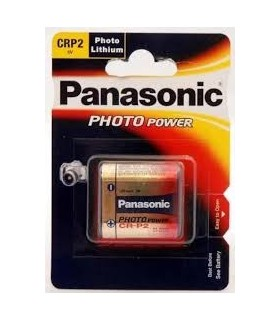 Pilha Litio CRP2 6,0V LiMnO2 - Panasonic - 169CRP2