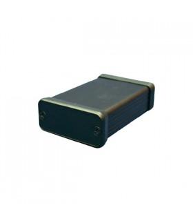 HM1455C1201BK - Caixa Metalica 54x120x23mm Aluminio - HM1455C1201BK