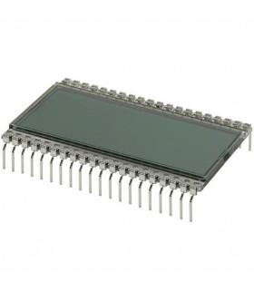 LCD-S3X1C50TR - DISPLAY, 7 SEGMENT, 3 1/2 DIGIT - LCD-S3X1C50TR
