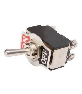 Interruptor Duplo On-Off  Grande - 9142C2PG