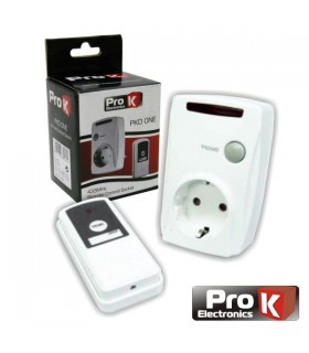 PKD ONE - Tomada Eléctrica c/comando s/fios ProK - PKDONE