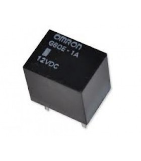 G8QE-1A DC12  - RELAY, AUTOMOTIVE, SPST, 12VDC, 10A, TH - G8QE1ADC12